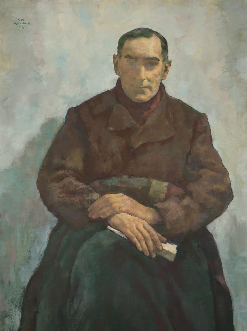Lotte Laserstein, Der Emigrant (Dr. Walter Lindenthal), 1941
