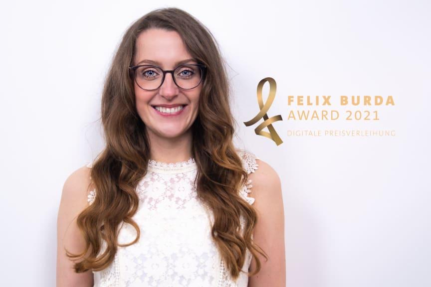 Felix Burda Award 2021: Ehrenfelix Susanna Zsoter