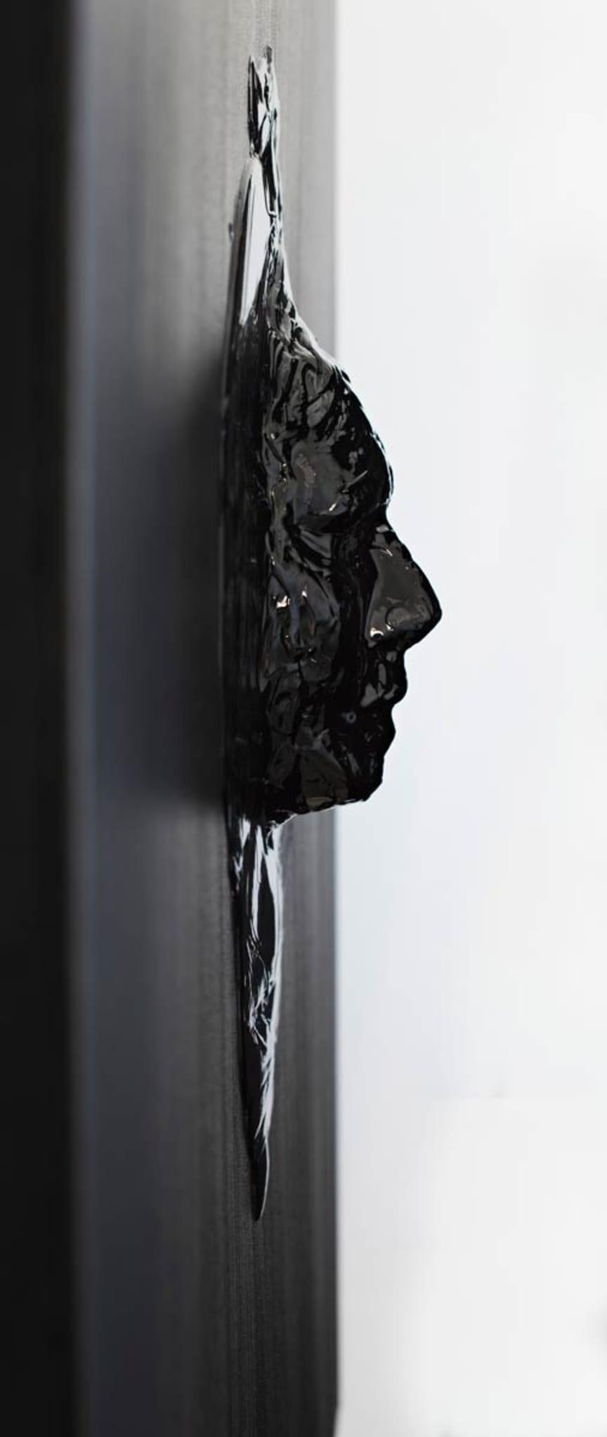 Akryl på canvas. 120 x 100.