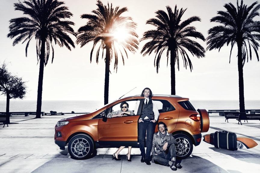 Ford EcoSport Live -kampanja