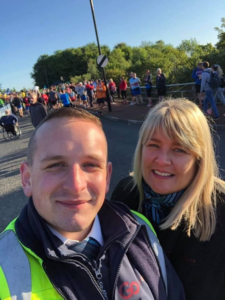 Go North East at the Great North Run