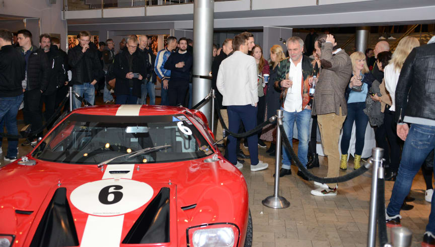 Ford Danmarks premiere på Le Mans '66