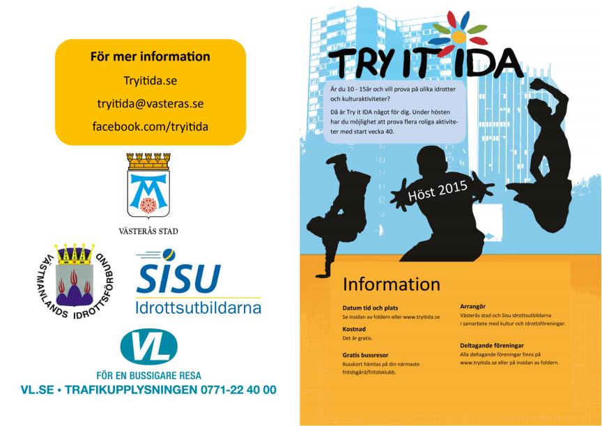 Try it IDA-aktiviteter hösten 2015