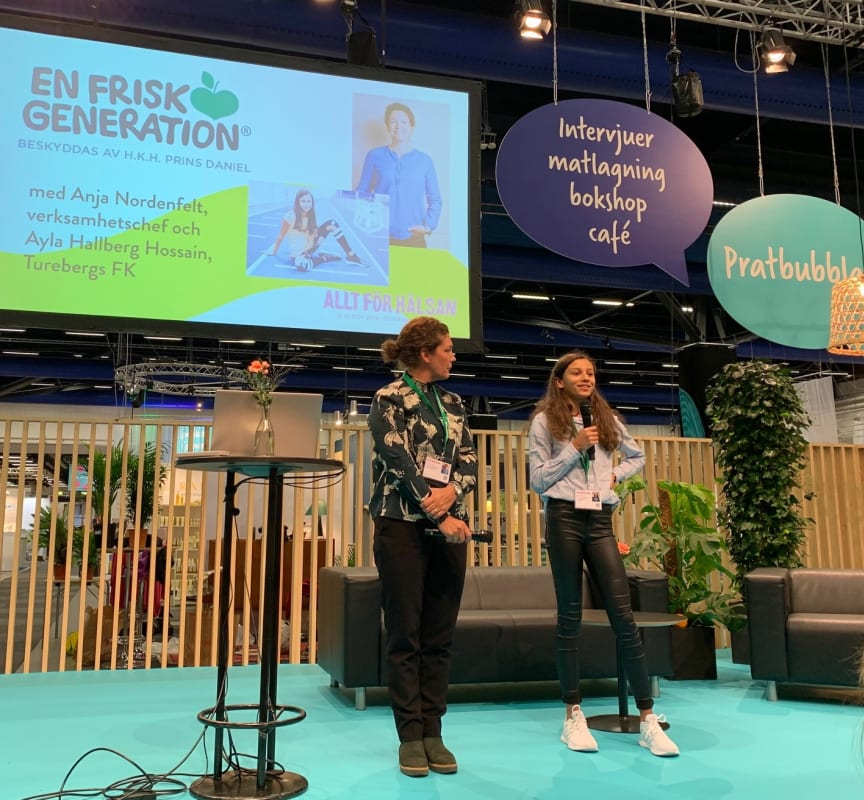 En Frisk Generation inleder Allt för Hälsan