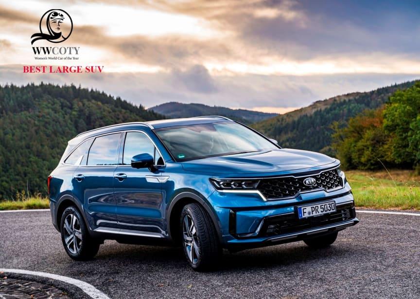 Sorento Best Large SUV WWCOTY 2021