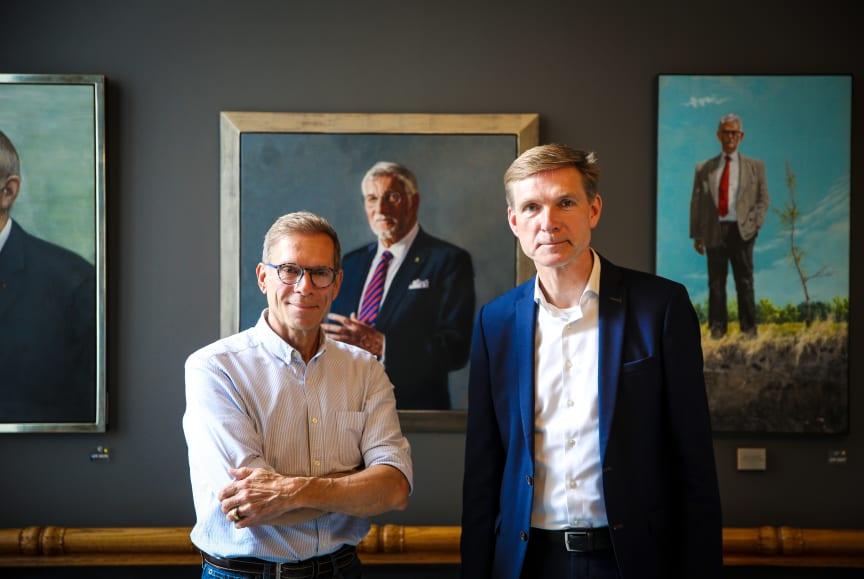 Mikael Melbye og Kristian Thuelsen Dahl