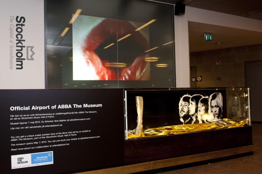 ABBA The Museum, ankomsthallen terminal 5