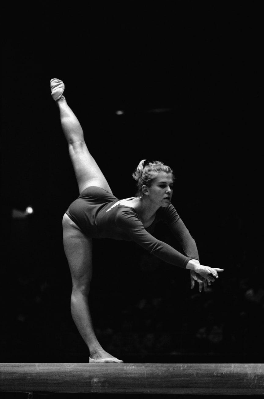 Olympiern och gymnasten Marie Björk, tidigare Lundqvist