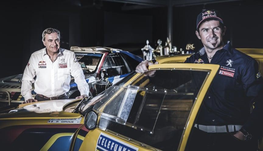 Peugeot återvänder till Dakarrallyt med förarna Carlos Sainz och Cyril Despres