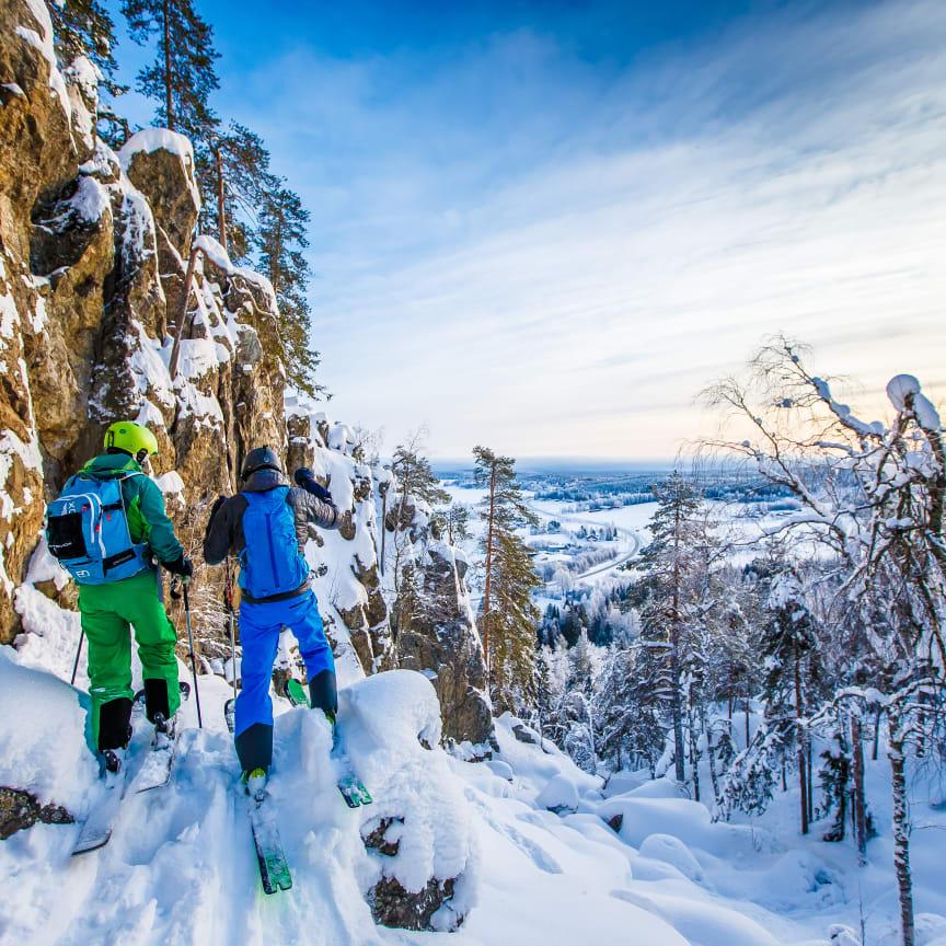 Tavelsjö Vintertoppar_Vallberget. Stor. Foto Emil Byström