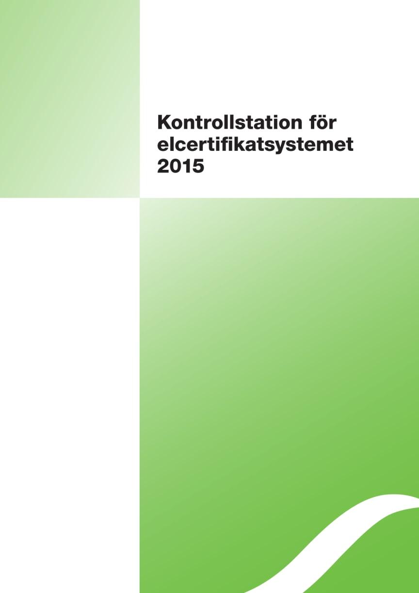 Gemensam sammanfattning för Energimyndighetens och NVEs rapporter