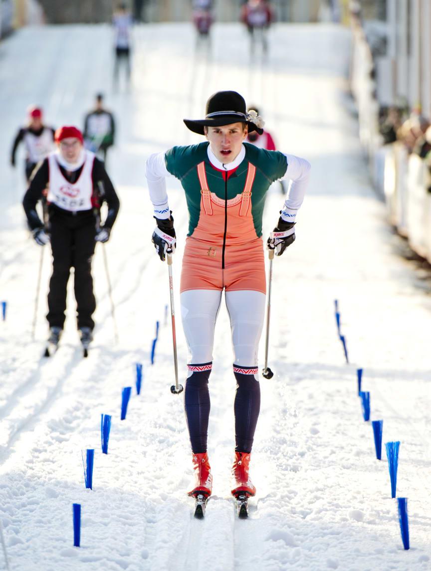 Daniel Svensson är årets kransmas i Vasaloppet