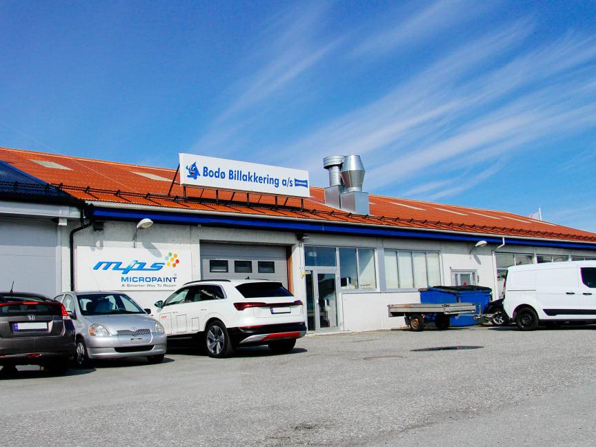 Har inngått intensjonsavtale om kjøp av Bodø Billakkering AS
