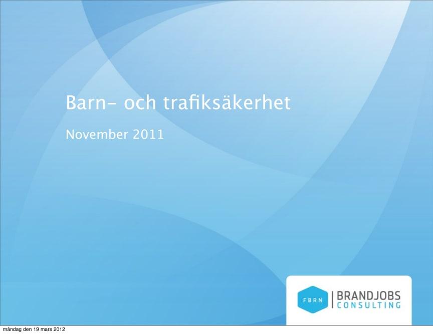 Undersökning Barnsäkerhet 2012 (publ 2012-03-29)
