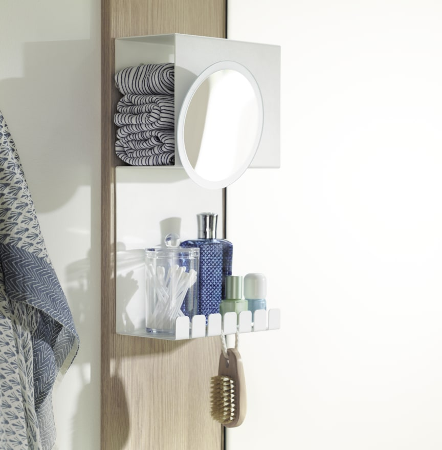 Sys30 Ecklösung: ergonomisches Waschtisch-Design