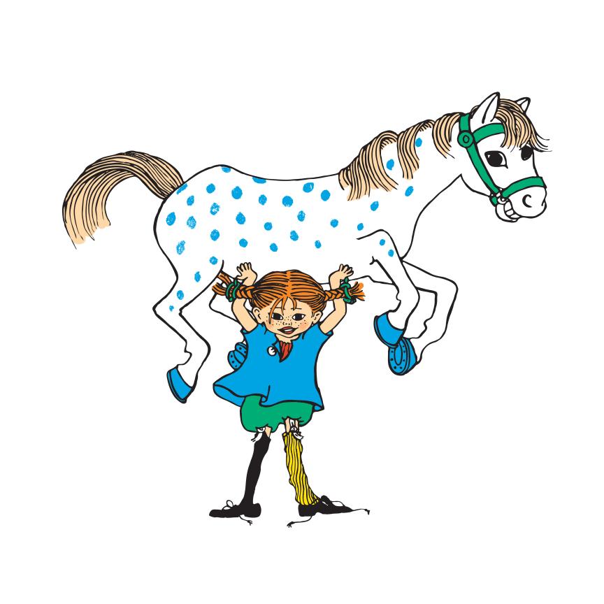Pippi Långstrump - världens starkaste flicka