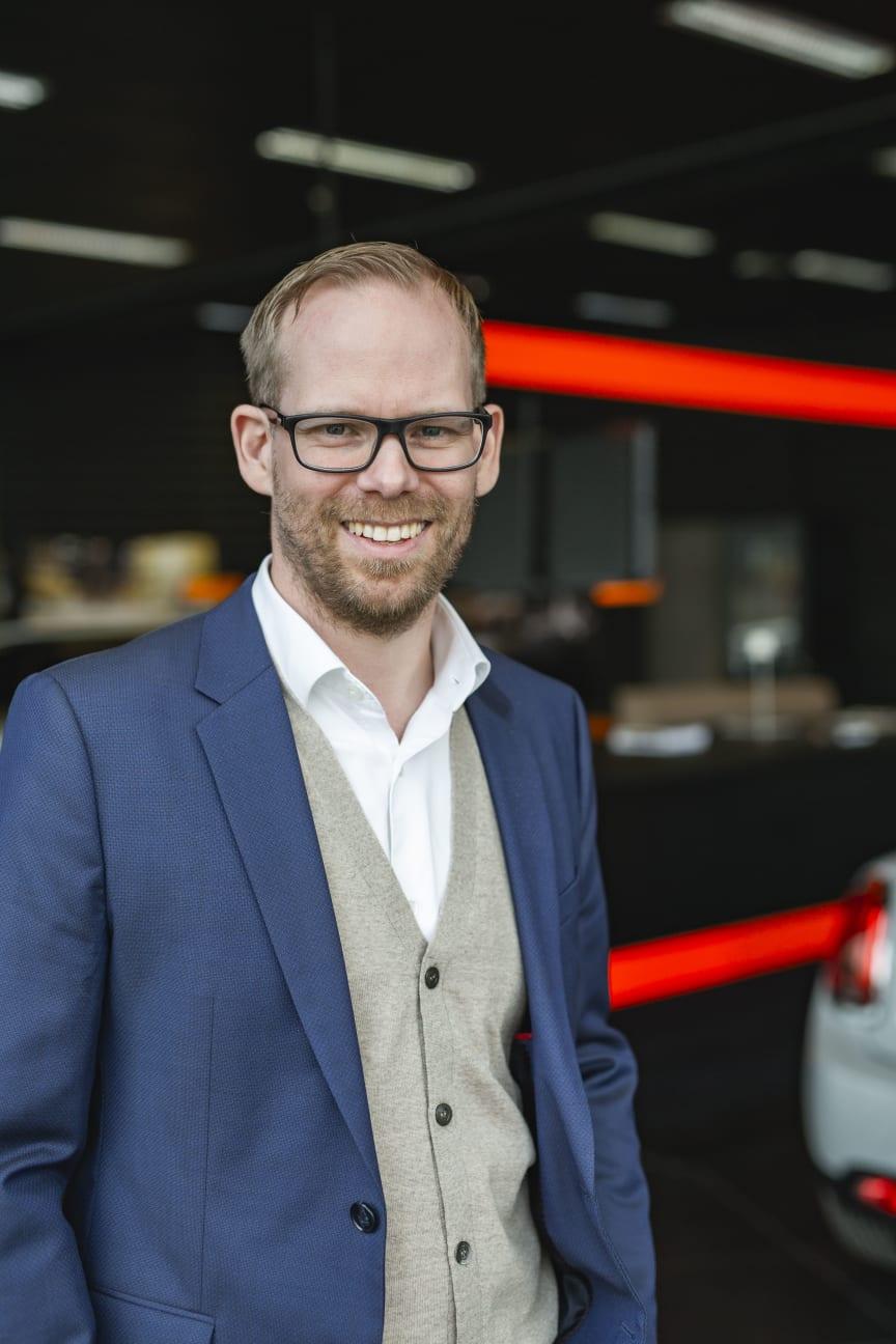 Espen Dalby Johansen, Norgessjef BYTON i Hedin Automotive