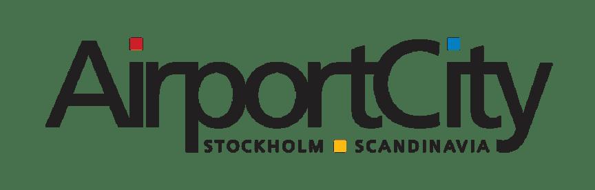 Airport City Stockholms logotyp