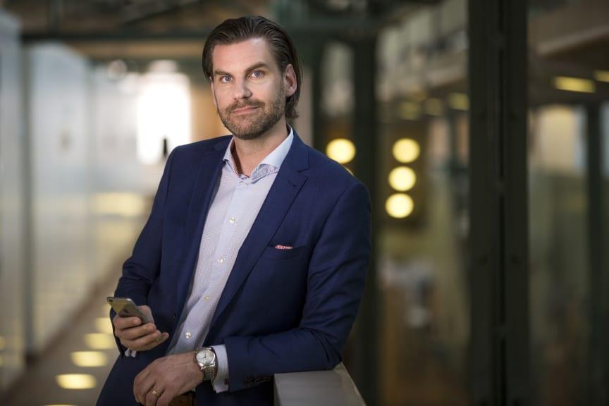Andreas Kristensson, IoT-chef Telenor Sverige