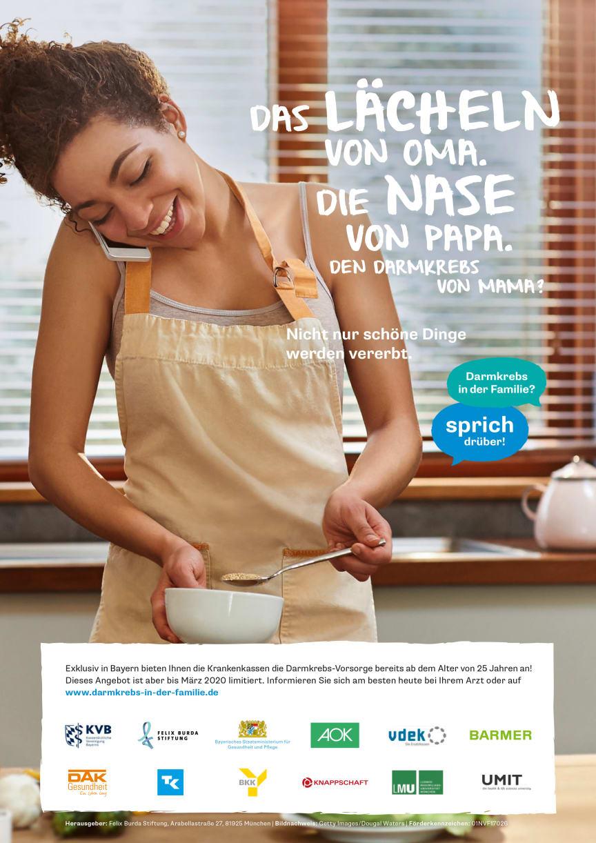 FARKOR: Werbe-Anzeige Frau