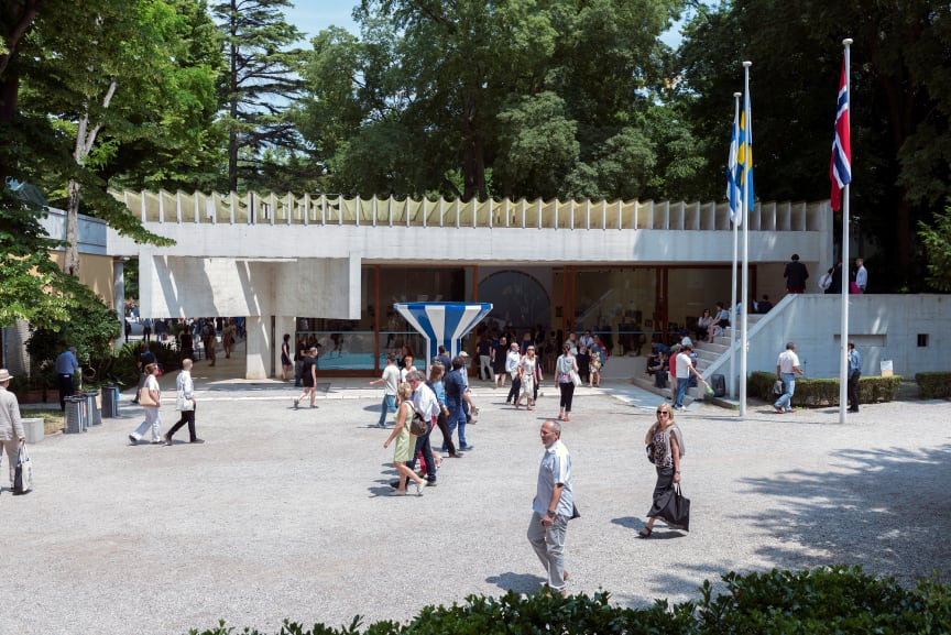 Den nordiske paviljongen. Foto Annar Bjørgli, Nasjonalmuseet