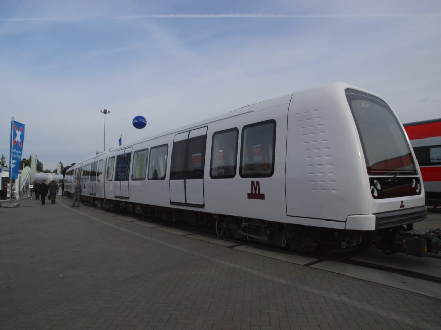 Metro Copenhagen manufactured by Hitachi Rail in Italy