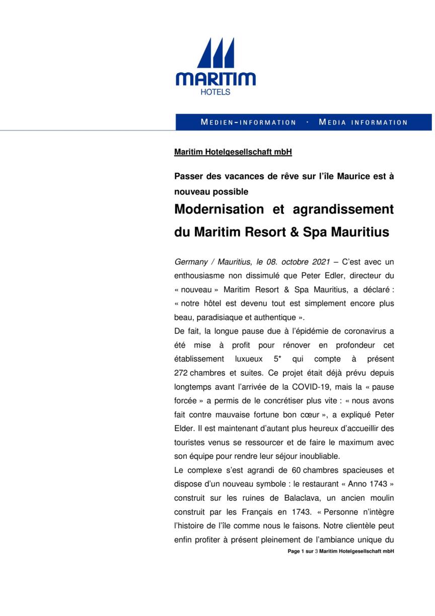 Modernisation et agrandissement du Maritim Resort & Spa Mauritius.pdf