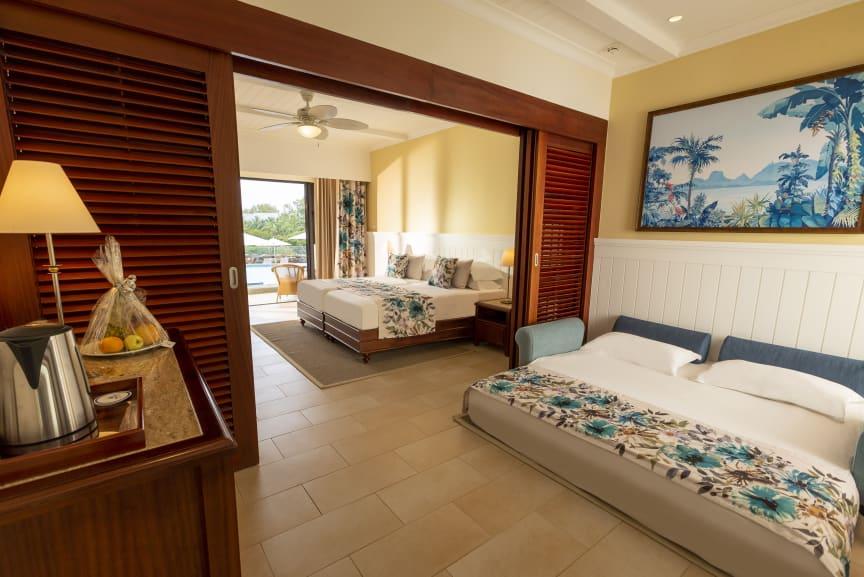 Großzügige Zimmer mit Extrabett