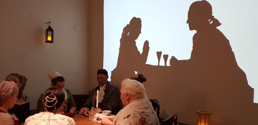 Bild från en av utställningarna på Stadsmuseet i Stockholm.