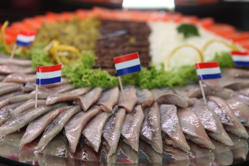 Matjessild er populært i Nederland