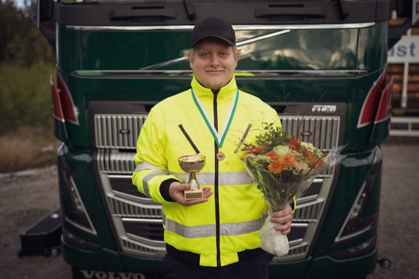 Edwin Hansson - vinnare kvaltävling till Yrkes-SM