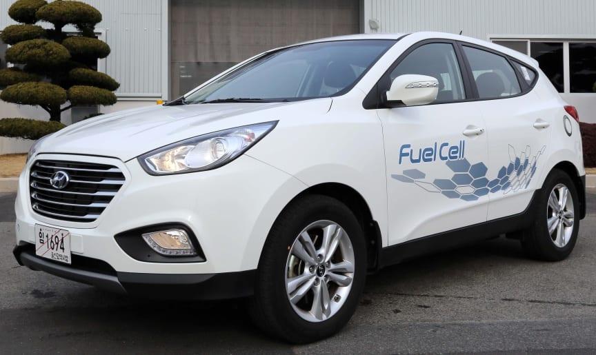 Hyundai ix35 hydrogenbil