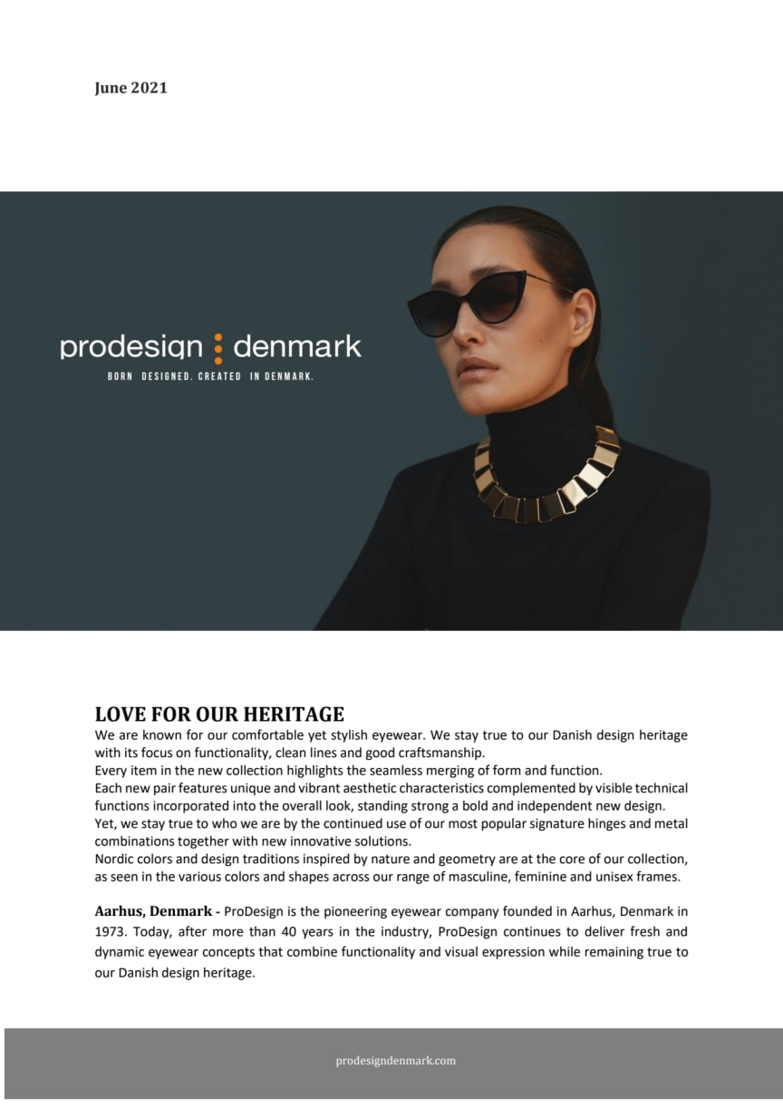 ProDesign - Love for our heritage