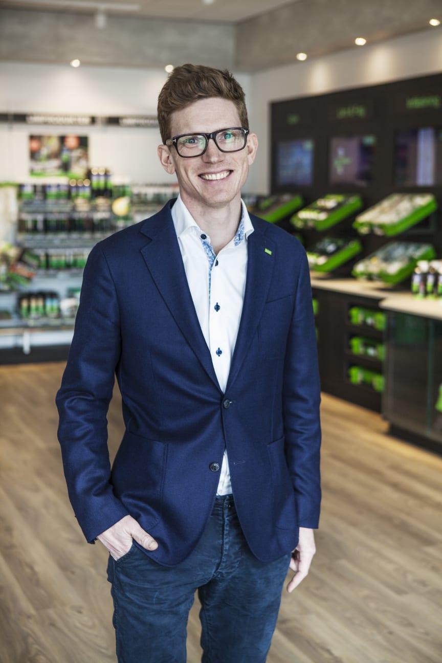Max Lagerstedt, group CEO ESSVE