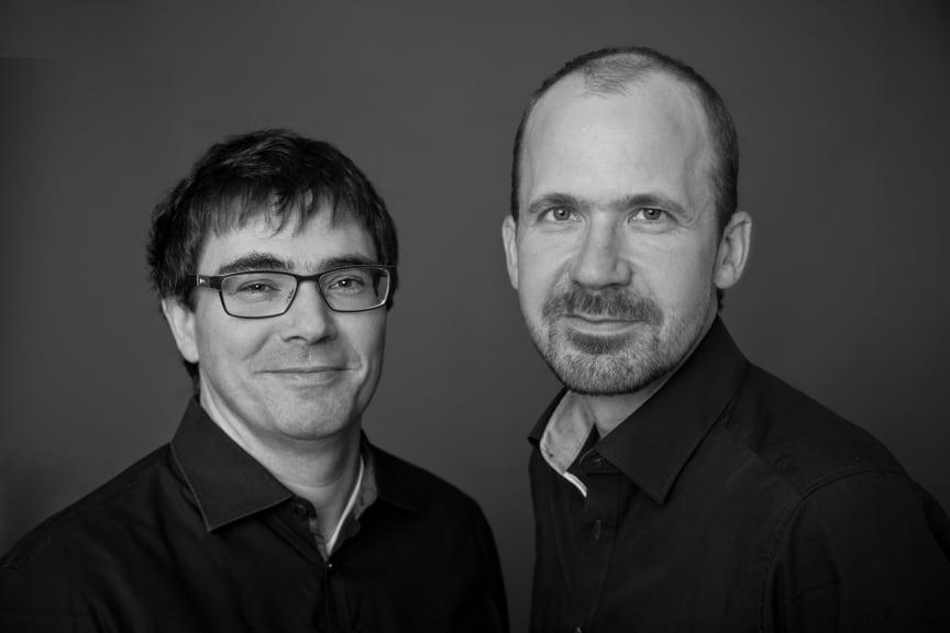 Författarfoto, Rüdiger Barth und Hauke Friederichs