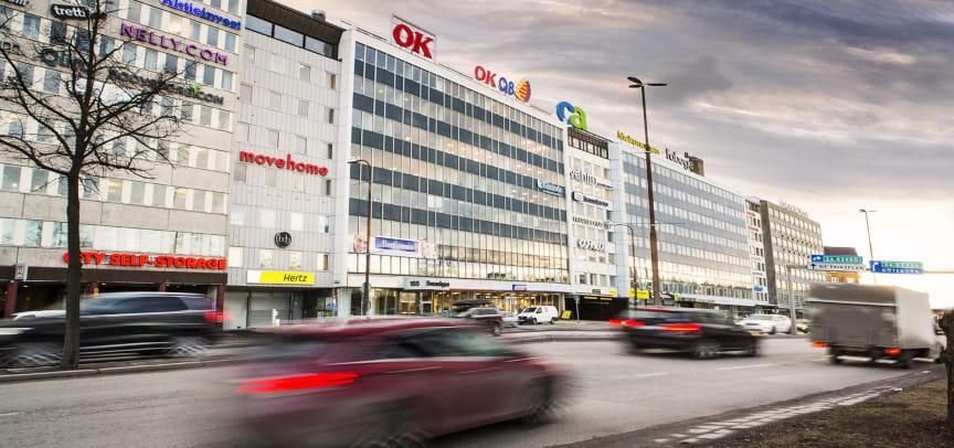 OK's huvudkontor i Stockholm.