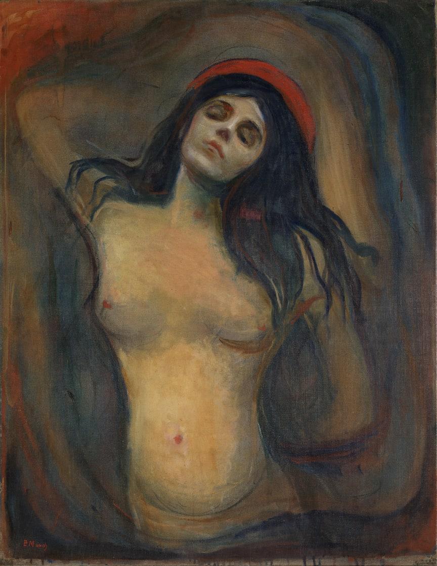 "Edvard Munch, ""Madonna"", 1894-95."