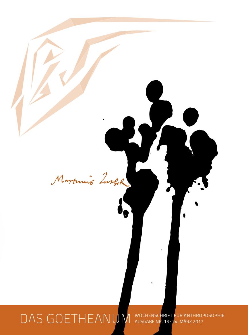 Cover Martin Luther Das Goetheanum 2017 13