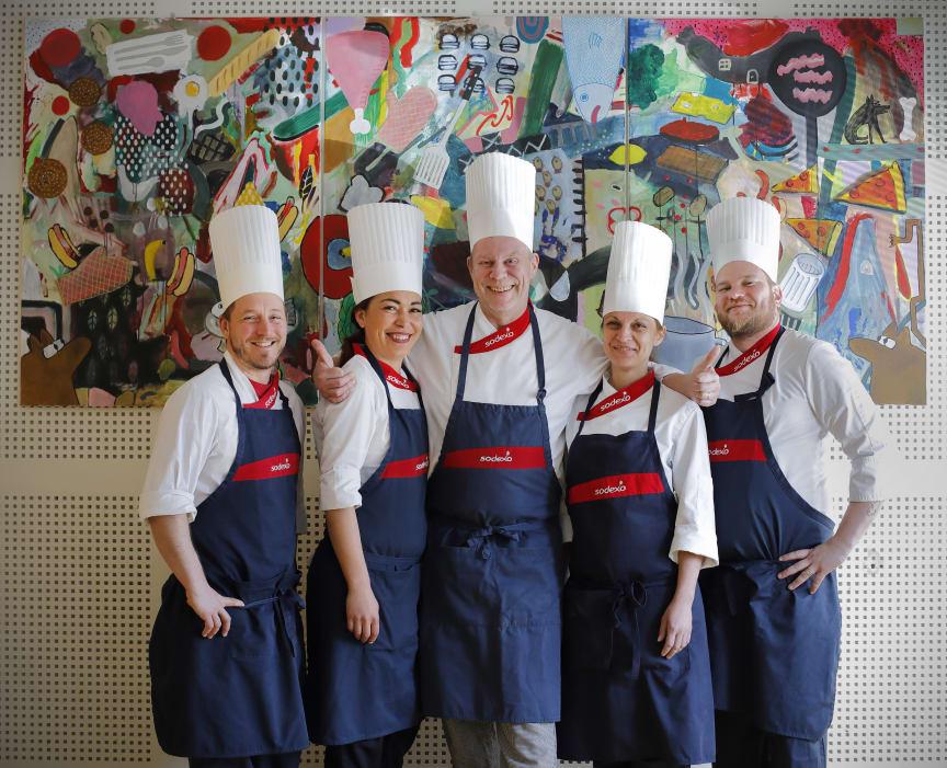 Sodexos kockteam storköksmästerskapen