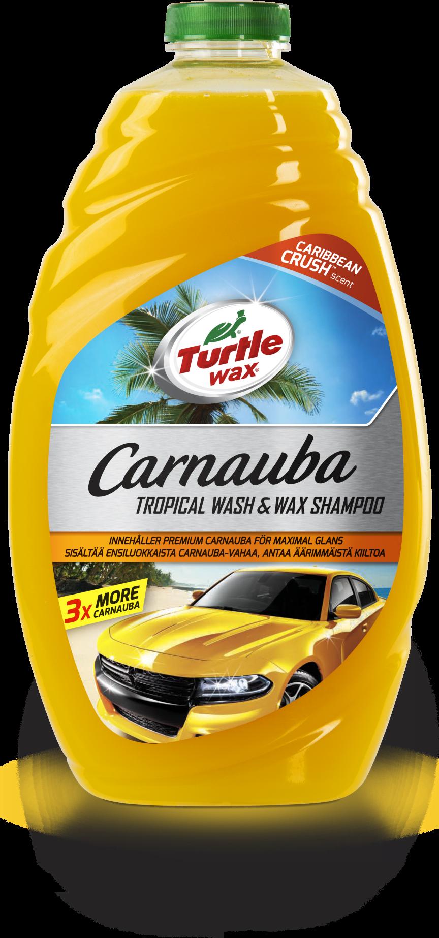 Turtle Wax Carnauba Tropical Wash & Wax Shampoo