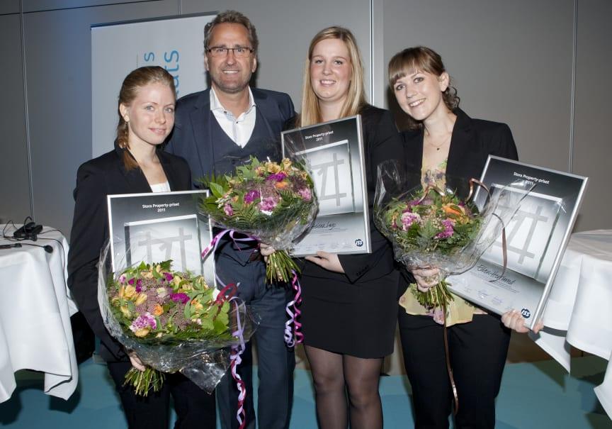 Pristagarna Stora Property-priset 2011
