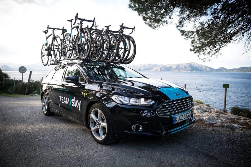 Team Sky og Ford indgår samarbejde