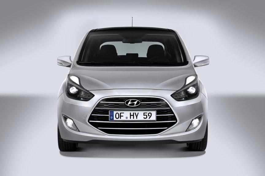 Ny Hyundai ix20 (forfra)