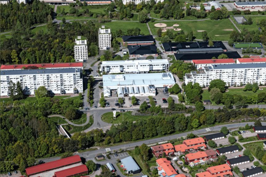 Gårdstens centrum