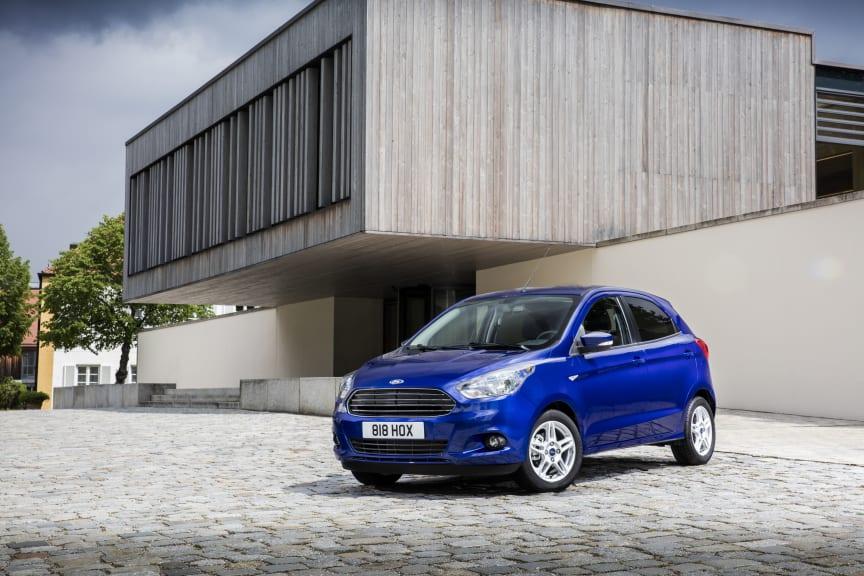 Helt nye Ford KA+