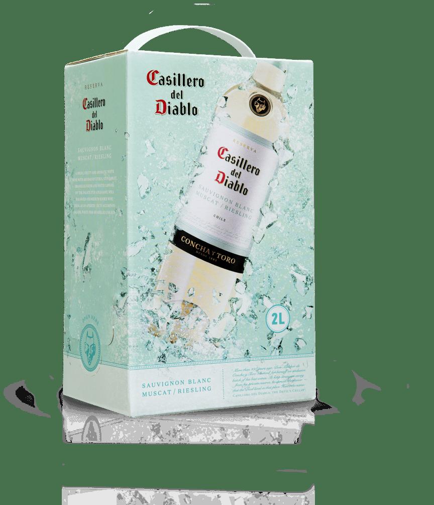 Casillero del Diablo Sauvignon Blanc, Muscat, Riesling (2L BIB)