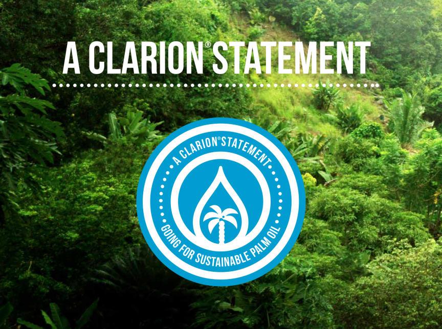 Clarion Statement - Bilder Palmolja