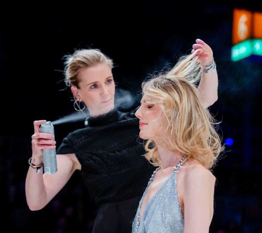 Stephanie Bruusgaard-Röcker auf der Bühne