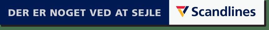 Scandlines logo med payoff horisontalt