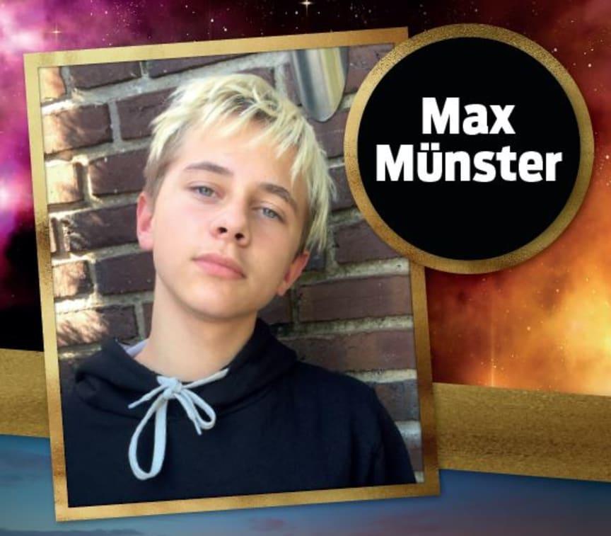 Max Münster til Åbent Hus